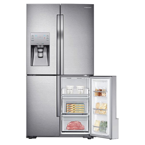 X on Samsung Refrigerator Reset On